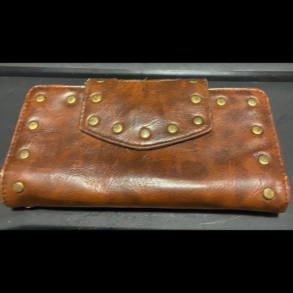 Braciano brown leather wallet